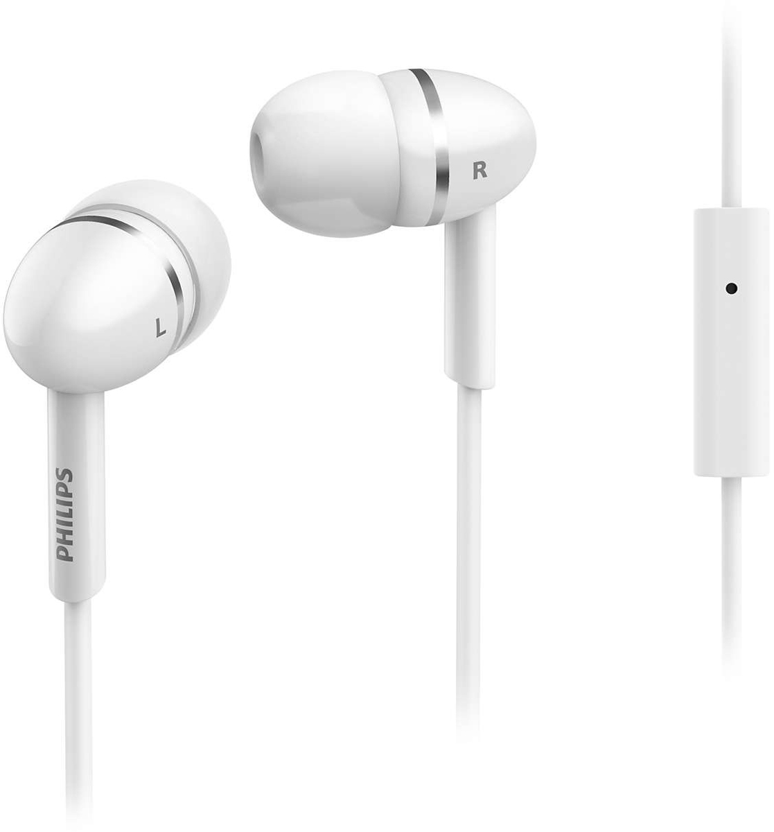 Philips SHE1455, White наушники наушники philips she1455 black