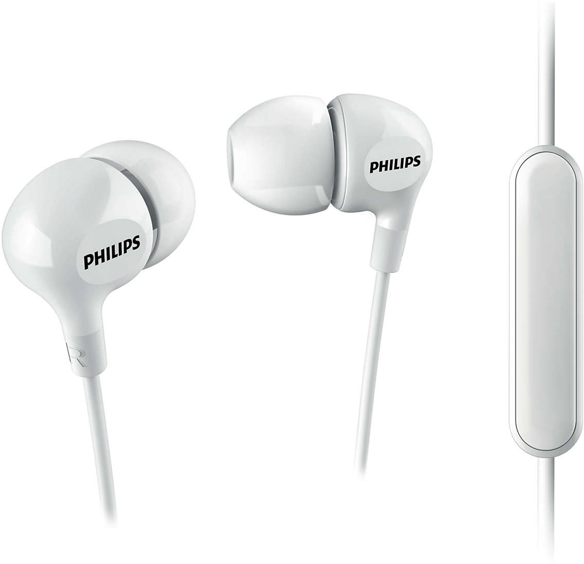 Philips SHE3555, White наушники what she left