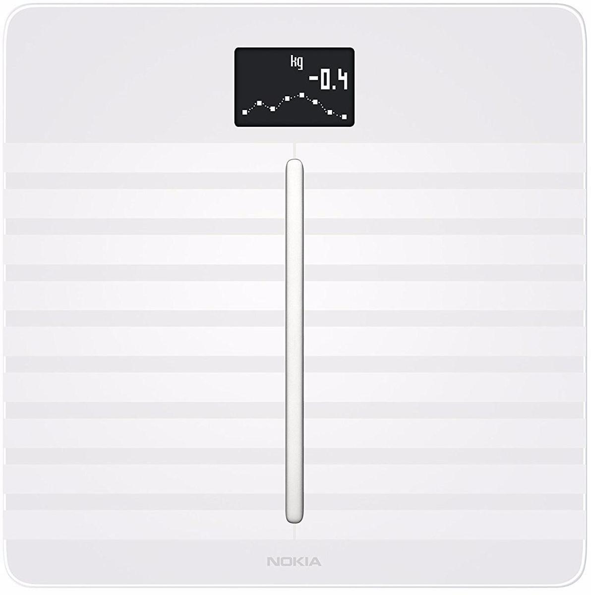Nokia Body Cardio, White весы напольные70235806Получите полную картину своего здоровья всего за один шаг: Nokia Body Cardio очень точно измерит массу тела, BMI, состав тела (жир, мышечная масса, вода и костная масса) и частоту сердечных сокращений.Body Cardio измеряет скорость пульсовой волны, признанную медицинским сообществом как лучший автономный показатель общего сердечно-сосудистого здоровья. Получите показания на экране весов и найдите подробную оценку в приложении Health Mate, а также советы по ее улучшению. Независимо от вашей физподготовки, вы сможете четко видеть, как небольшие изменения в образе жизни могут оказать влияние на улучшение здоровья ваших артерий.Люди, установившие цель в приложении, теряют в два раза больше веса. Вы устанавливаете цель, а Health Mate поможет вам ее достичь. Каждое взвешивание отображается в приложении Health Mate автоматически, через Wi-Fi или Bluetooth.