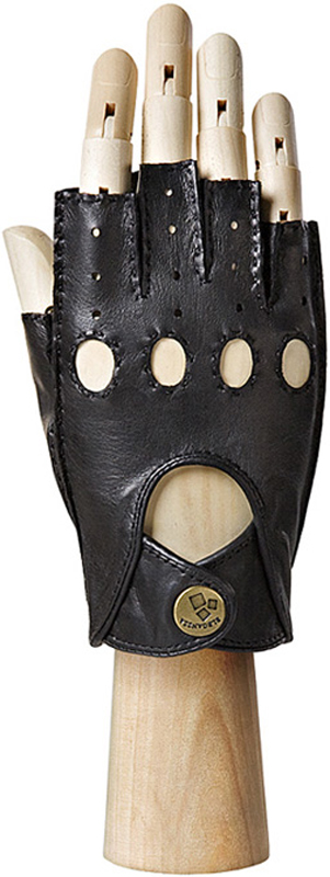 Перчатки женские Eleganzza, цвет: черный. HS012W. Размер 8