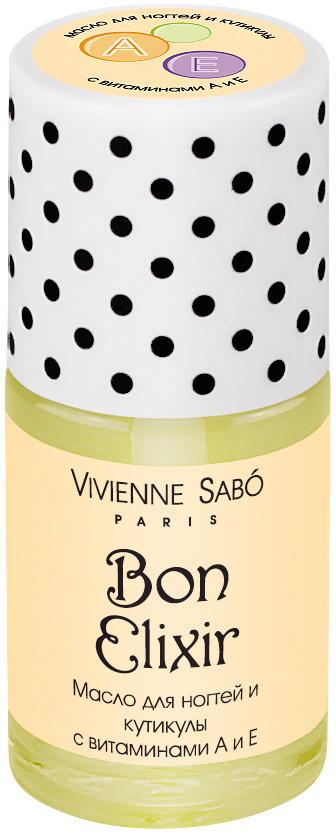 Vivienne Sabo Масло для ногтей и кутикулы с витаминами А и Е Bon Elixir, 15 мл vivienne sabo vivienne sabo пудра в шариках 21