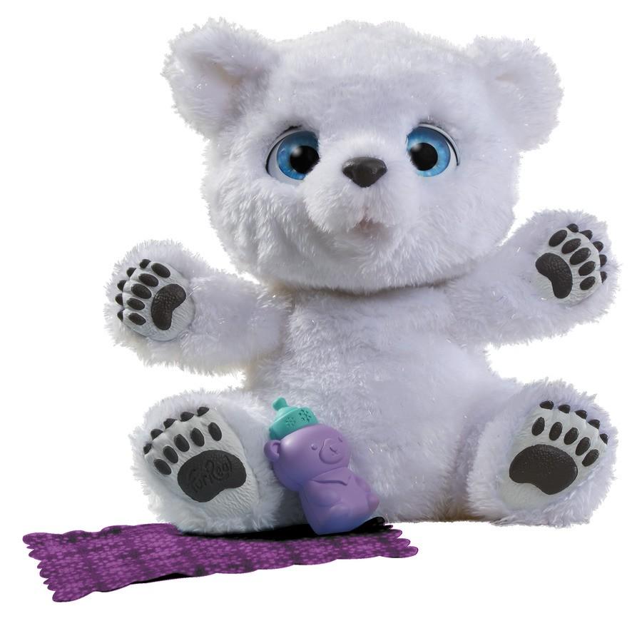 FurReal Friends Интерактивная игрушка Полярный медвежонок игрушка hasbro furreal friends полярный медвежонок b9073