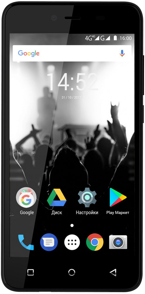 Highscreen Easy Power, Black сотовый телефон highscreen easy power pro black