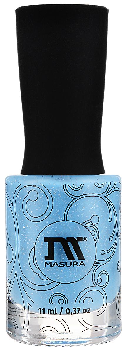 Masura Лак для ногтей Дыши, 11 млNY121Голубой голографический лак, плотныйКак ухаживать за ногтями: советы эксперта. Статья OZON Гид