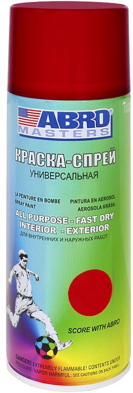 Купить Краска-спрей Abro Masters , цвет: красный. SP-075-AM
