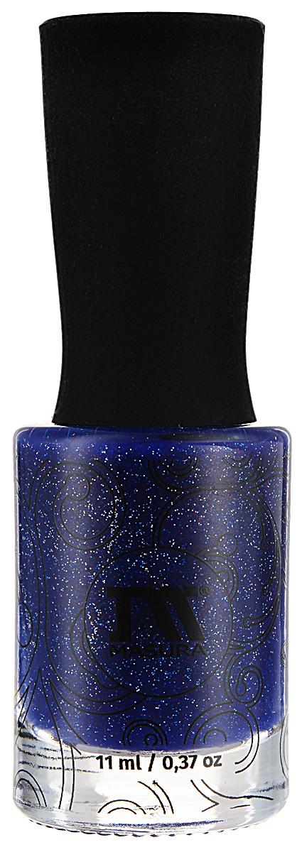 Masura Лак для ногтей Падение в Бездну, 11 мл1136Тёмный ультрамариновый с голографическим мерцанием