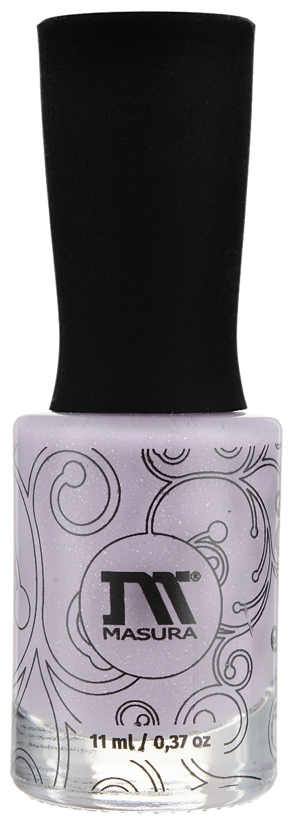 Masura Лак для ногтей Люби, 11 мл1129Фиалковый голографический лак, плотный