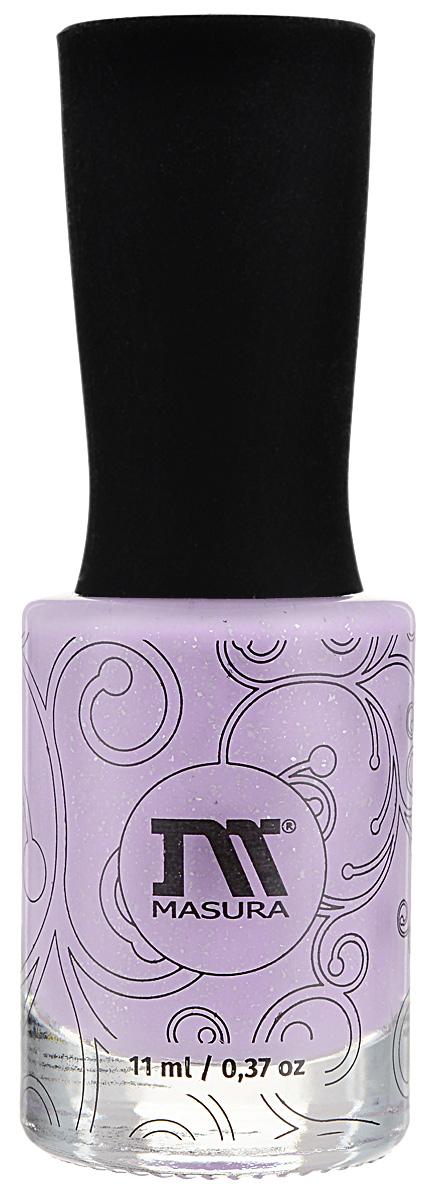 Masura Лак для ногтей Мечтай, 11 мл1128Светло-розовый голографический лак, плотный