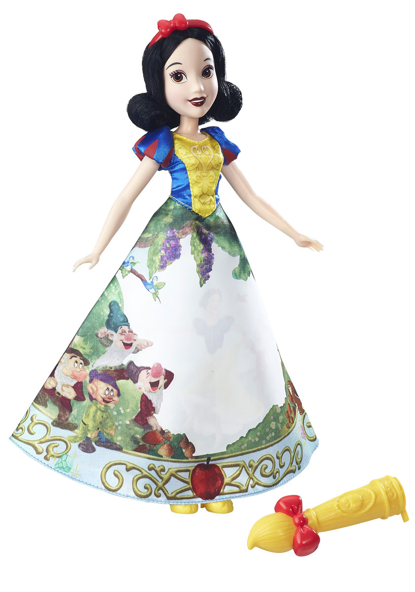 Disney Princess Кукла Белоснежка в юбке с проявляющимся принтом hasbro модная кукла принцесса в юбке с проявляющимся принтом принцессы дисней b5295 b5299