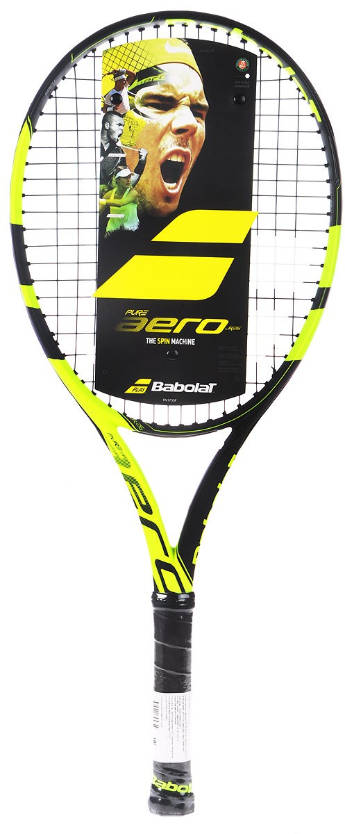 Теннисная ракетка BABOLAT PURE AERO JUNIOR (Пьюр Аэро Джуниор). Размер 0