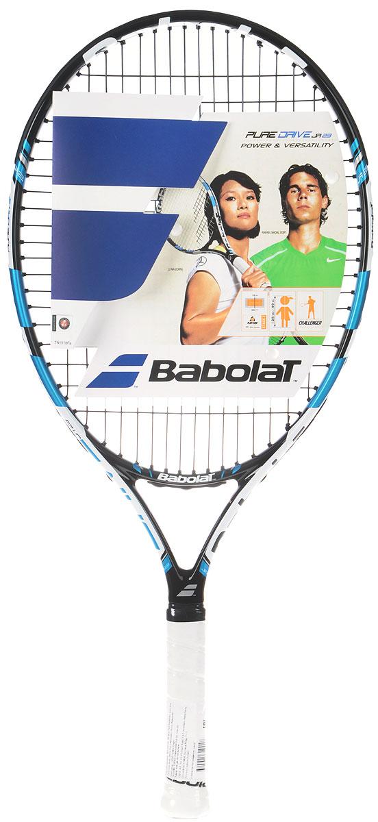 Ракетка теннисная Babolat Pure Drive Junior 23 ракетка теннисная wilson burn 100ls размер 2
