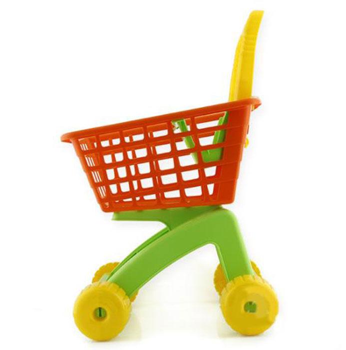 Полесье Игрушечная тележка для магазина с набором продуктов №7 полесье набор для песочницы 406