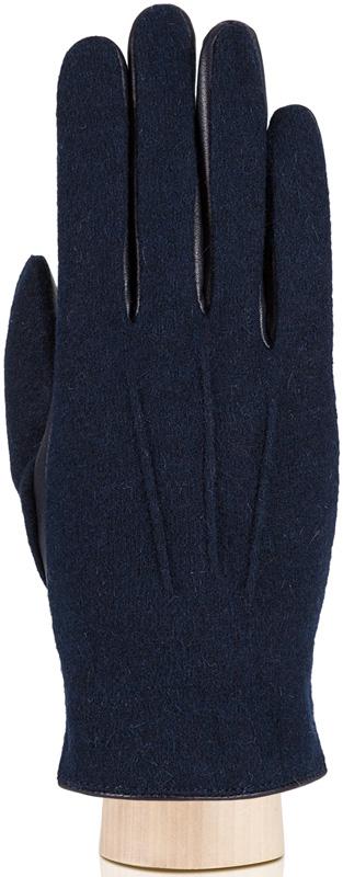 Перчатки мужские Eleganzza, цвет: темно-синий. IS0160. Размер 10