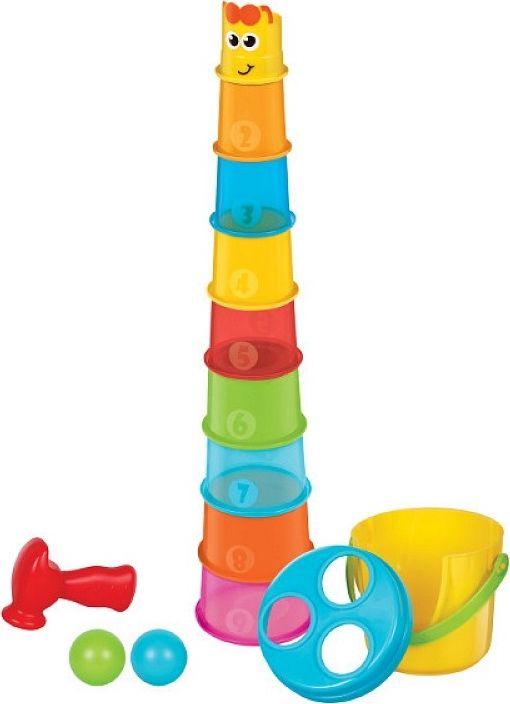 Пирамидка Bkids Жираф bkids интерактивная игрушка компьютер