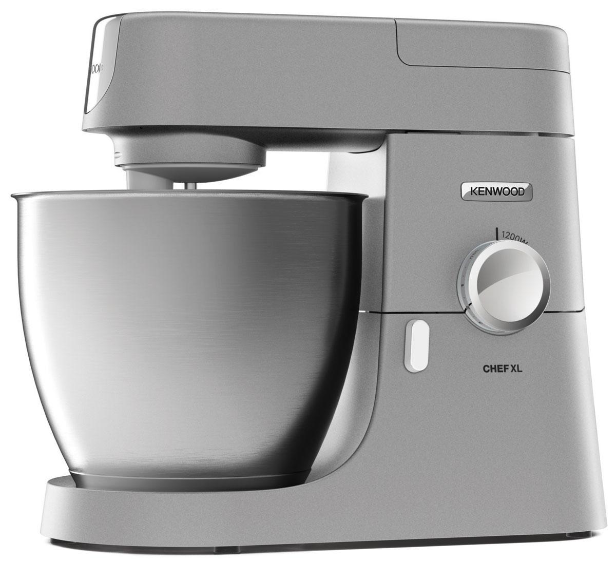Kenwood KVL4100S Chef XL кухонная машинаKVL4100SПриготовьте вместе с надежной кухонной машиной Chef XL KVL4100S вкуснейшую еду на ваш стол, удивляйте родных и друзей. Этот продукт, разработанный для легкой работы по приготовлению разнообразных блюд и поможет вам легко создать их. Хотите ли вы создать домашнюю сальсу, смешать здоровые коктейли и супы, фаршировать овощи или приготовить макаронные изделия, а как на счет домашнего мороженного? Kenwood Chef XL поможет вам в приготовлении разнообразных кулинарных изысков.