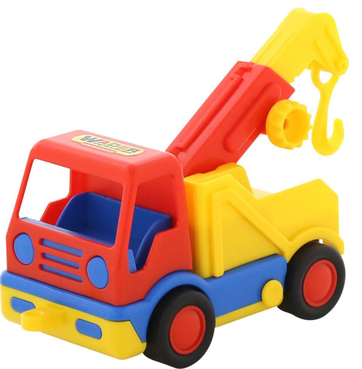 Полесье Эвакуатор Базик игрушечные машинки на пульте управления по грязи купить