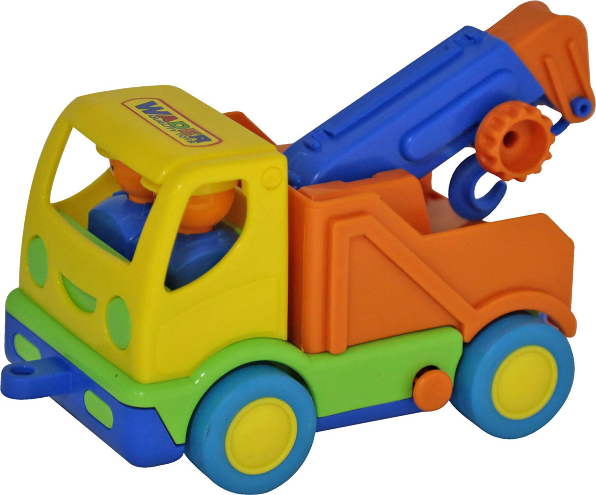 Полесье Эвакуатор Мой первый грузовик цвет желтый оранжевый полесье автомобиль с цистерной мой первый грузовик 5441
