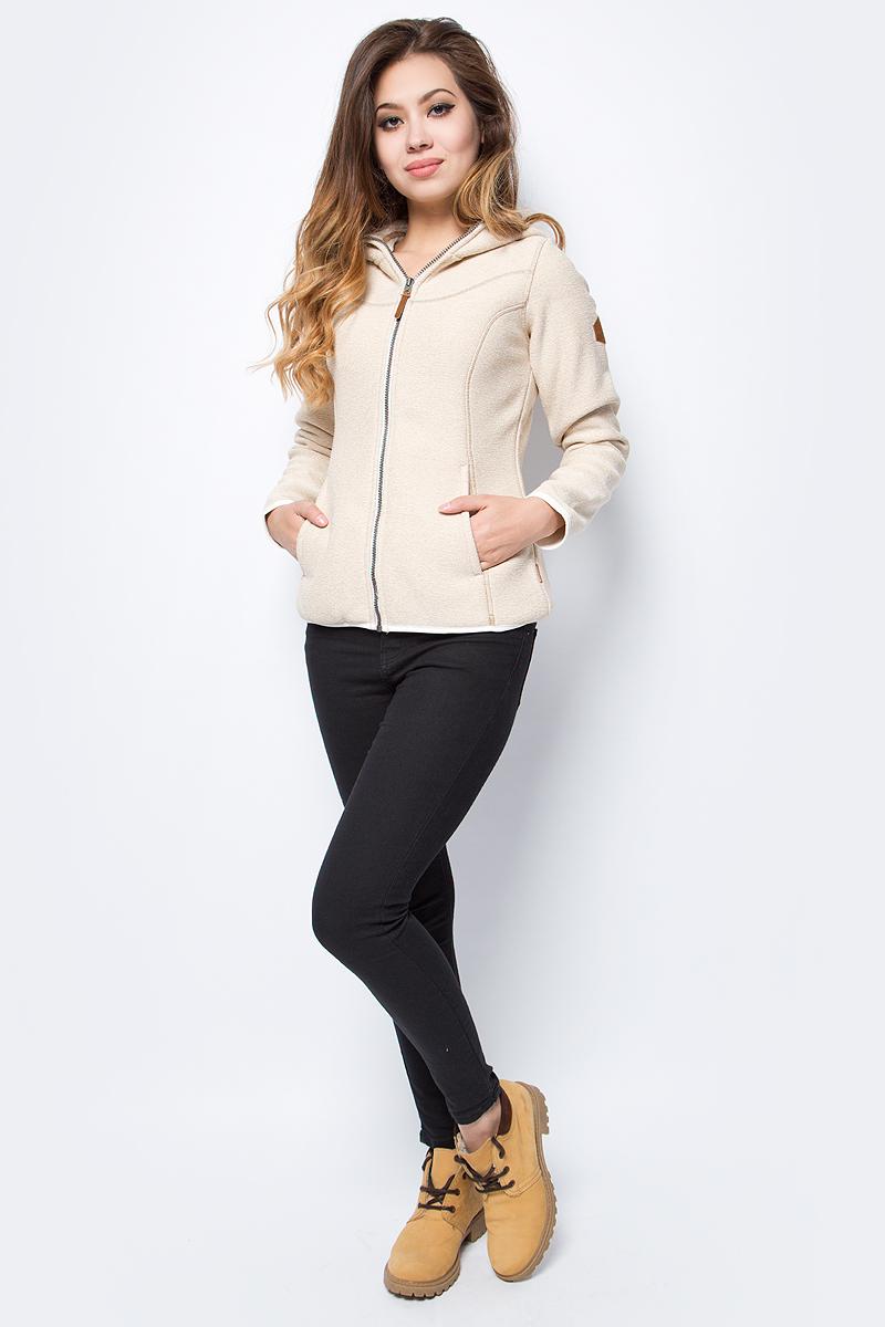 Толстовка женская Merrell Petra, цвет: светло-бежевый. A18AMRJUW01-1C. Размер 52 merrell рубашка с длинным рукавом женская merrell cilicia