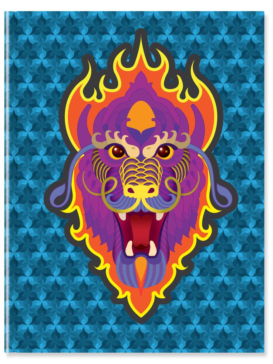 Блокнот для записей Дракон 64 листа в линейку цвет мультиколор4670016580108Блокнот для записей Дракон
