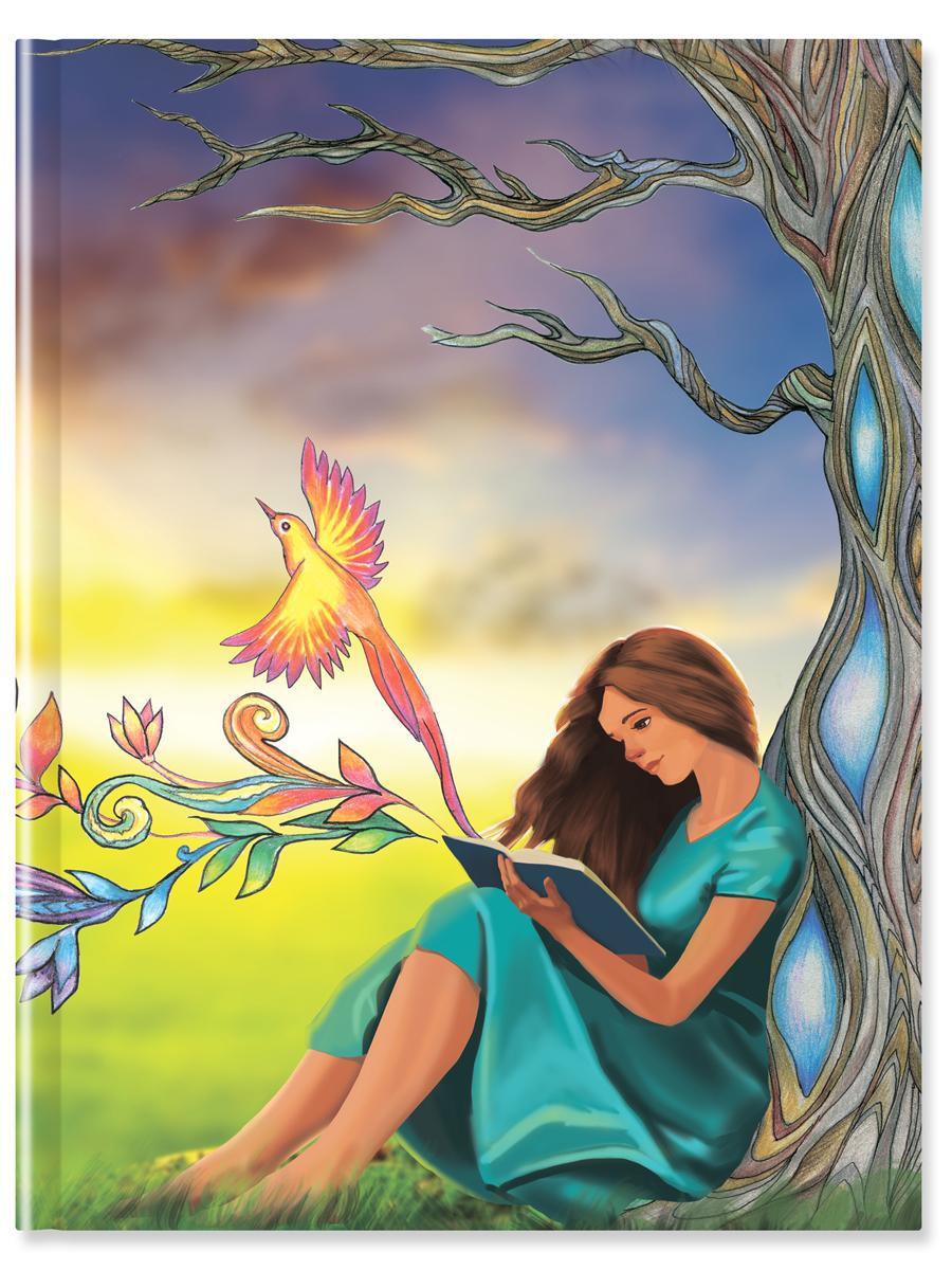 Блокнот для записей Девушка 64 листа в линейку цвет мультиколор4670016580115Блокнот для записей Девушка