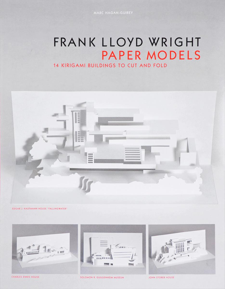 Frank Lloyd Wright Paper Models: 14 Kirigami Buildings to Cut and Fold dana house – frank lloyd wright