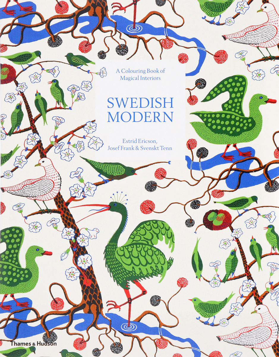 Swedish Modern: A Colouring Book of Magical Interiors konkord modern comfort 160x200x18