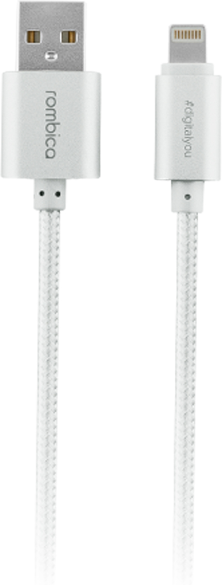 Rombica Digital Silver USB - Apple Lightning, Silver кабельCB-C2A0S