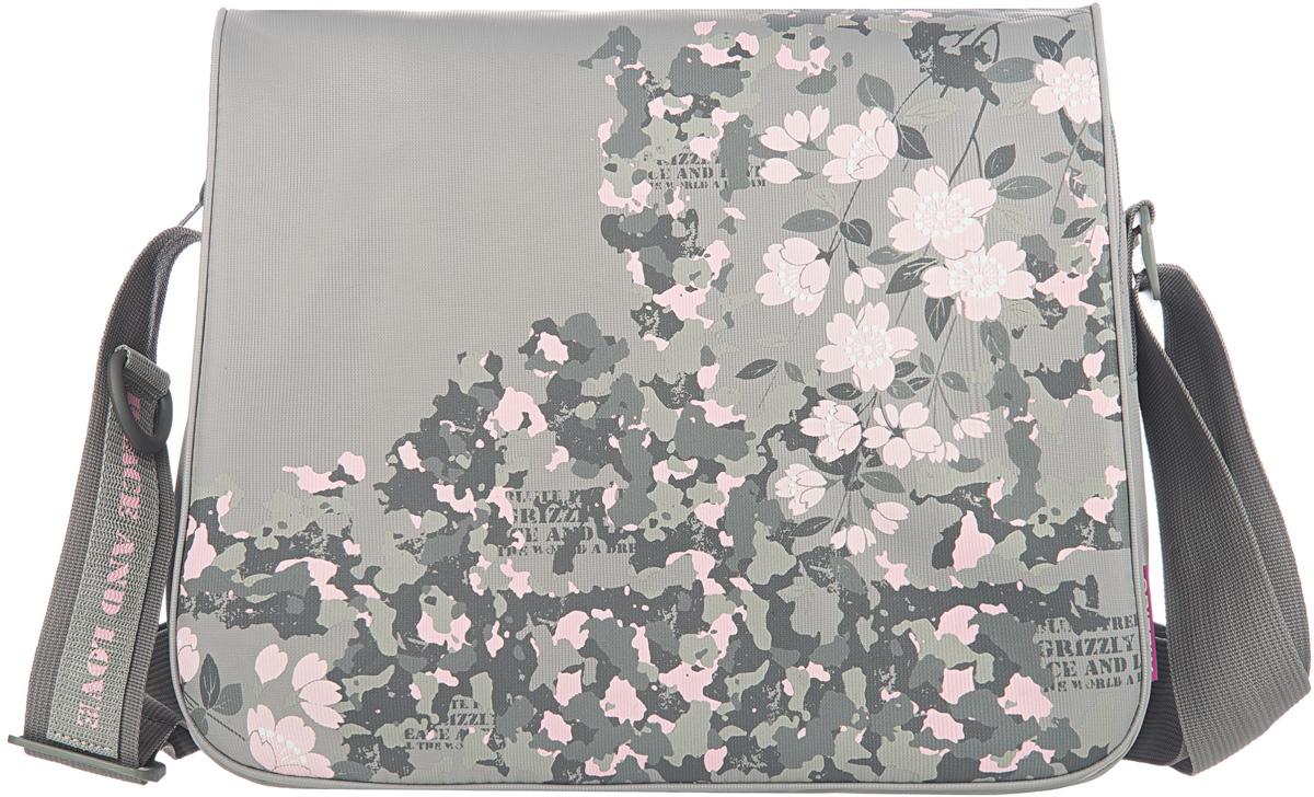 Сумка женская Grizzly, цвет: серый, 9,5 л. MD-533-2/1 сумка женская чейнз 2