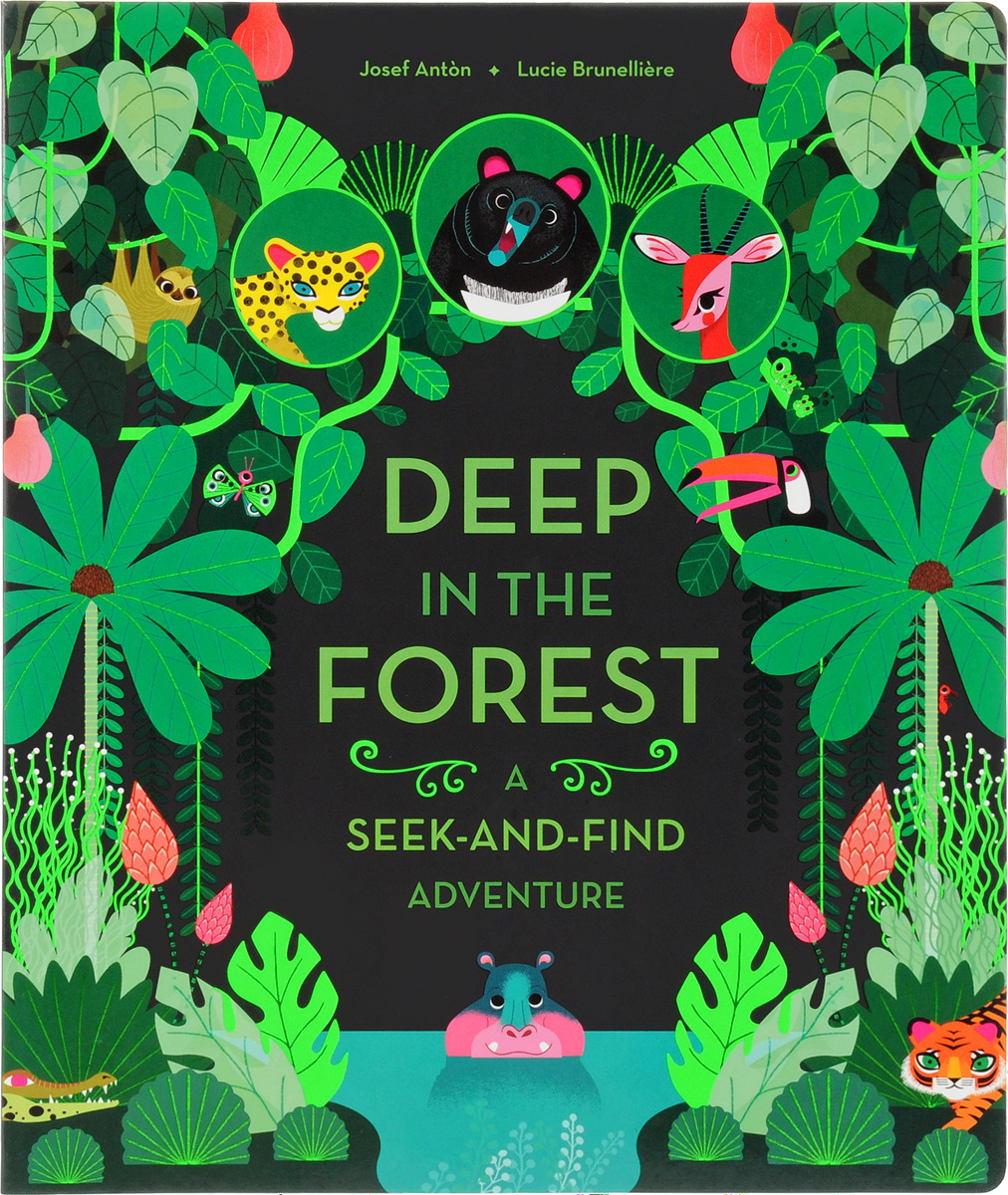 Deep in the Forest: A Seek-and-Find Adventure seek thermal