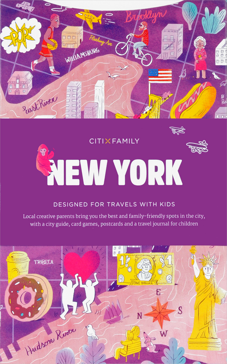 New York: CITIxFamily City Guides 30pcs in one postcard take a walk on the go new york america christmas postcards greeting birthday message cards 10 2x14 2cm