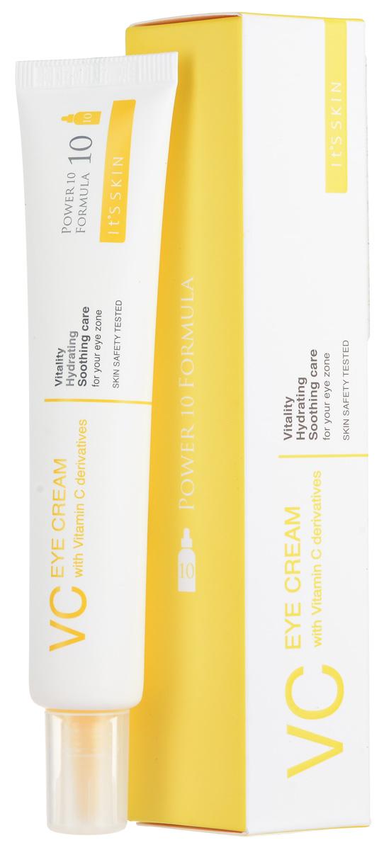 It's Skin КремдляглазПауэр10ФормулаЭффектор,витаминС,30 мл ahava time to hydrate нежный крем для глаз 15 мл