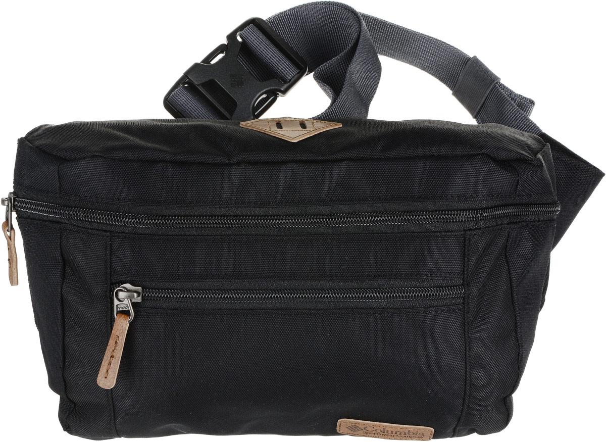 Сумка на пояс Columbia Classic Outdoorlumbar Bag, цвет: черный, 17,8 см x 23,5 см x 7,6 см1719922CLB-010Поясная сумка Columbia прекрасно дополнит, как городской образ, так и станет незаменимой вещью для путешественника. Сумка выполнена из прочной полиэстеровой ткани. Технология Omni-Shield предотвращает впитывание влаги и сохнет в 5 раз быстрее. Два отделения на молнии.