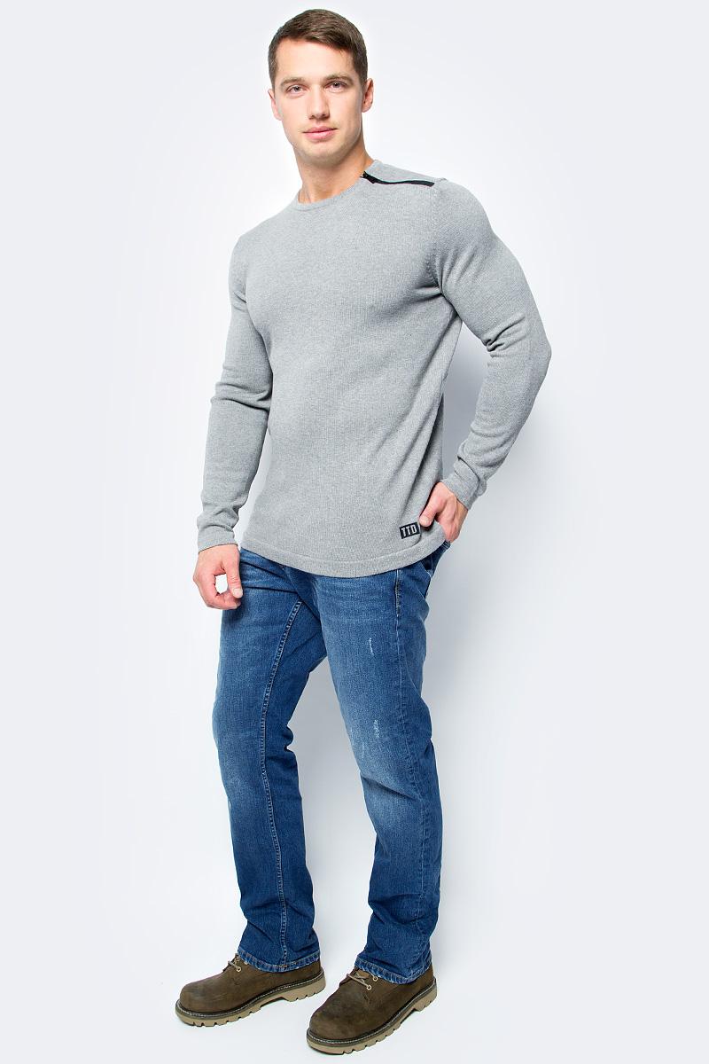 Джемпер мужской Tom Tailor, цвет: серый. 3055015.00.12_2803. Размер XL (52)3055015.00.12_2803Джемпер мужской Tom Tailor выполнен из натурального хлопка. Материал изделия мягкий и тактильно приятный, не стесняет движений и обладает высокими дышащими свойствами. Модель с длинными рукавами и круглым вырезом горловины.