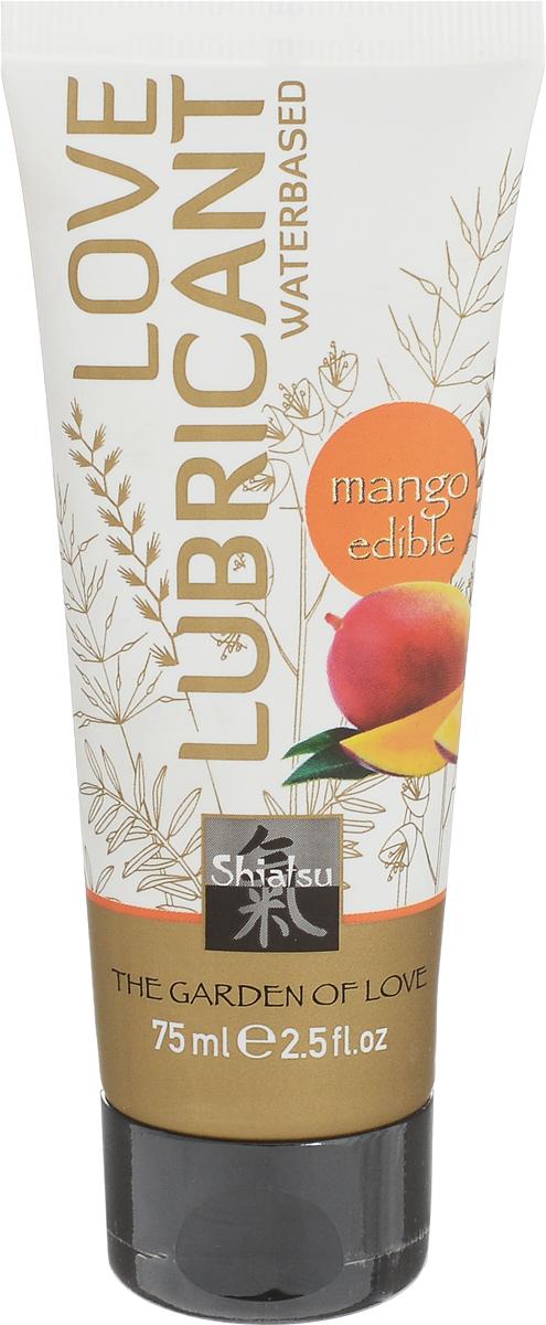 Shiatsu Гель лубрикант на водной основе с ароматом «Манго» 75 мл erotist lubricants лубрикант на водной основе cooling 100 мл