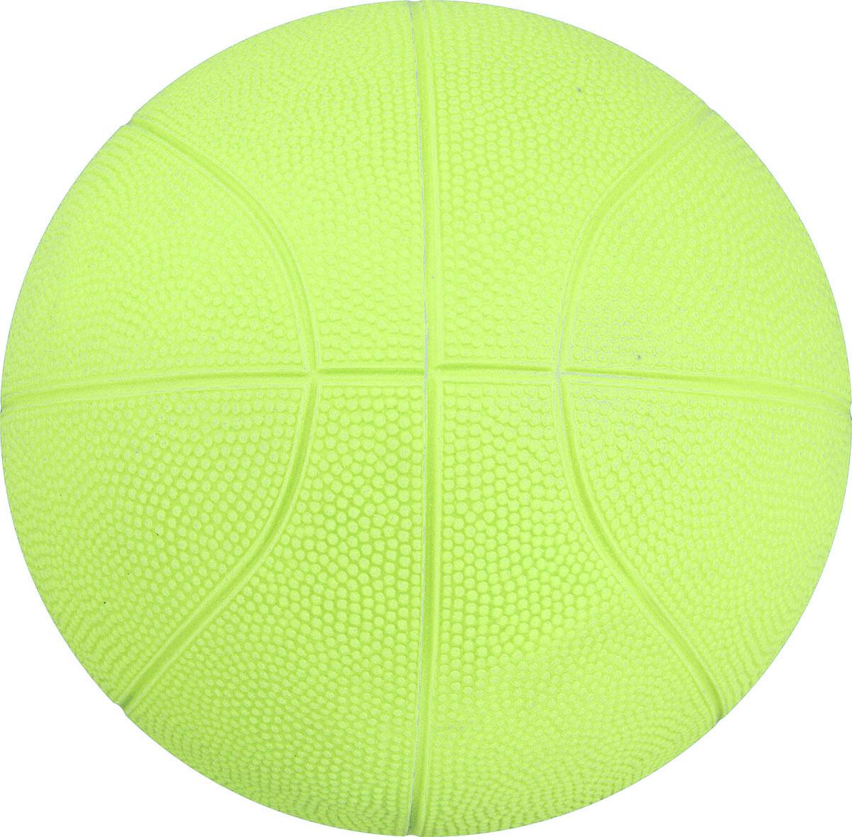 Весна Мяч детский баскетбольный цвет салатовый диаметр 25,5 см