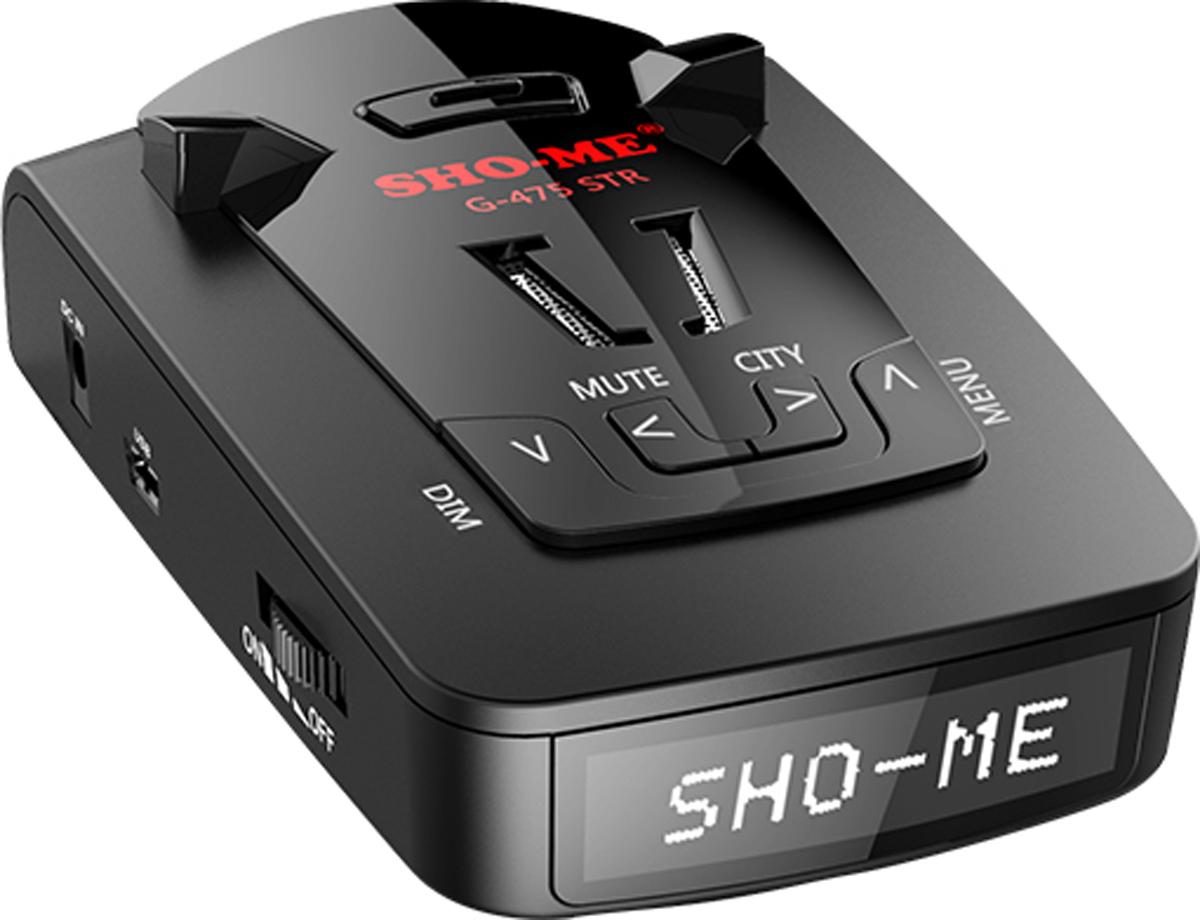 Sho-Me G-475 STR радар-детекторG-475 STRРадар-детектор Sho-Me G-475 STR
