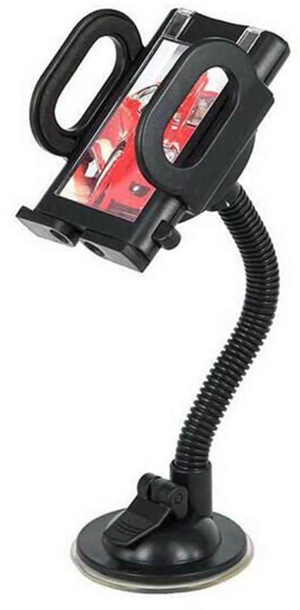 SAGO FLEXMOUNT, Black автомобильный держательFLEXMOUNTSAGO FLEXMOUNT - универсальный автомобильный держатель с штангой предназначенный для мобильных устройств. Аксессуар фиксирует телефон с двух сторон.