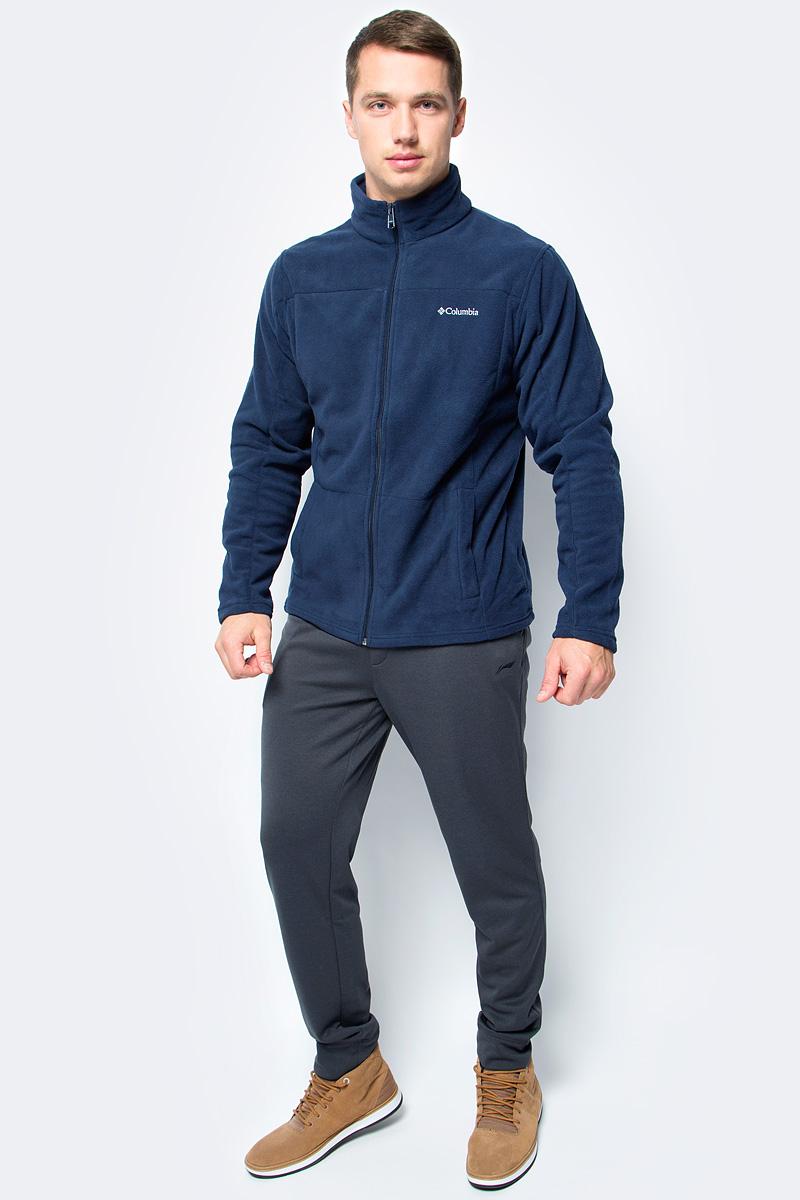 Толстовка мужская Columbia Western Ridge Full Zip M, цвет: темно-синий. 1736711-464. Размер XL (52/54)1736711-464Классическая мужская флисовая толстовка от Columbia на молнии для использования в качестве среднего слоя одежды. Флис - это очень удачный материал для одежды, которая направлена на удержание тепла, ведь ткань даже в мокром состоянии сохраняет свои теплоизоляционные свойства. Воротник-стойка защитит шею от продувания ветром. Модель дополнена двумя боковыми карманами и оформлена на груди логотипом с названием бренда.
