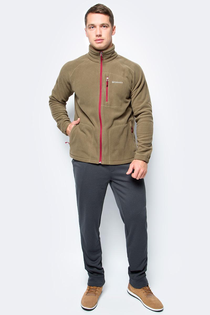 Толстовка мужская Columbia Fast Trek Ii Full Zip Fleece M, цвет: коричневый. 1420421-239. Размер M (46/48)