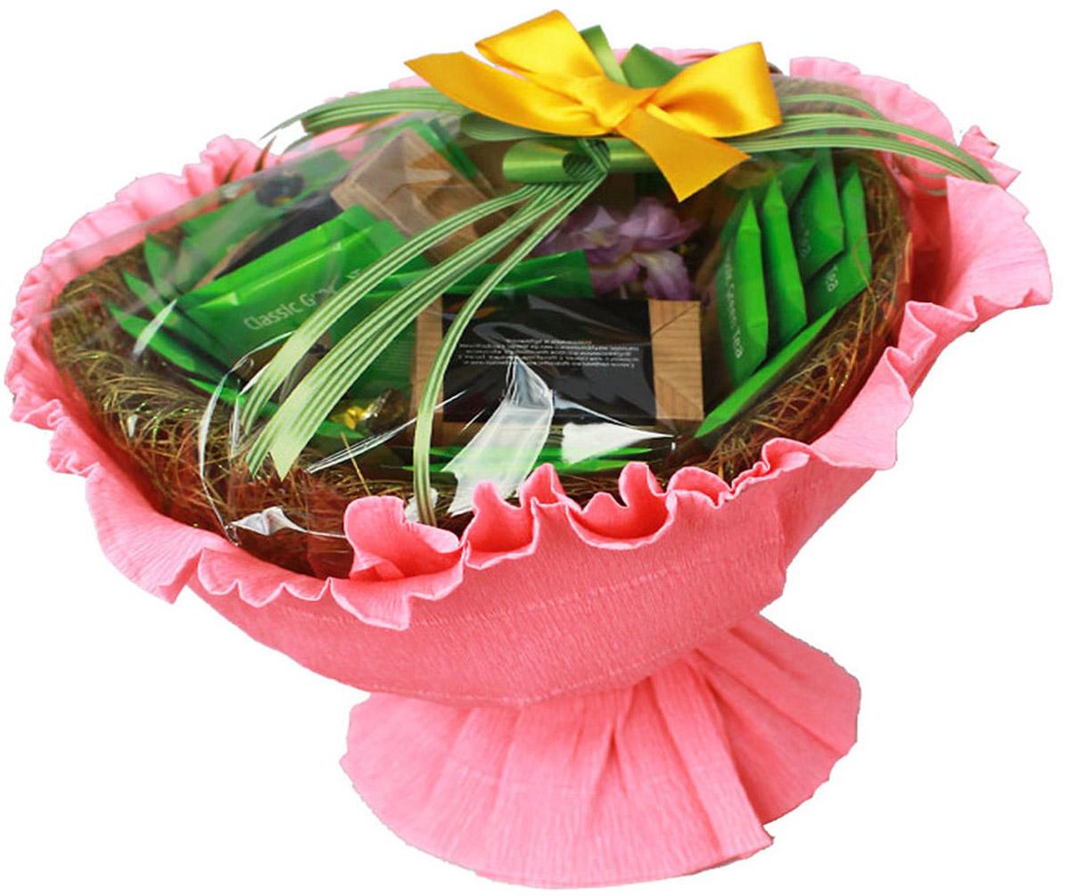 Чайный букет Радость зеленый чай кертис с манго