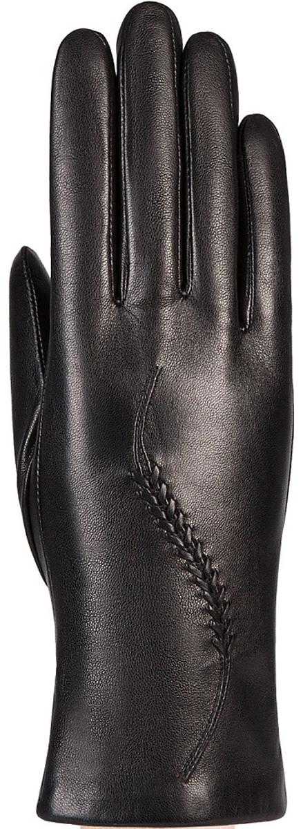 Перчатки женские Eleganzza, цвет: черный. IS7012. Размер 7,5