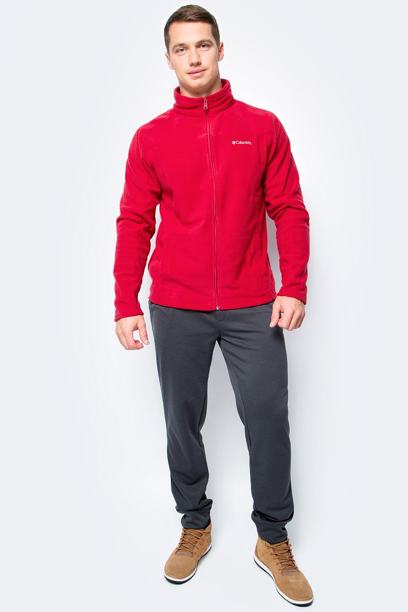 Толстовка мужская Columbia Western Ridge Full Zip M, цвет: красный. 1736711-613. Размер L (48/50)1736711-613Классическая мужская флисовая толстовка от Columbia на молнии для использования в качестве среднего слоя одежды. Флис - это очень удачный материал для одежды, которая направлена на удержание тепла, ведь ткань даже в мокром состоянии сохраняет свои теплоизоляционные свойства. Воротник-стойка защитит шею от продувания ветром. Модель дополнена двумя боковыми карманами и оформлена на груди логотипом с названием бренда.