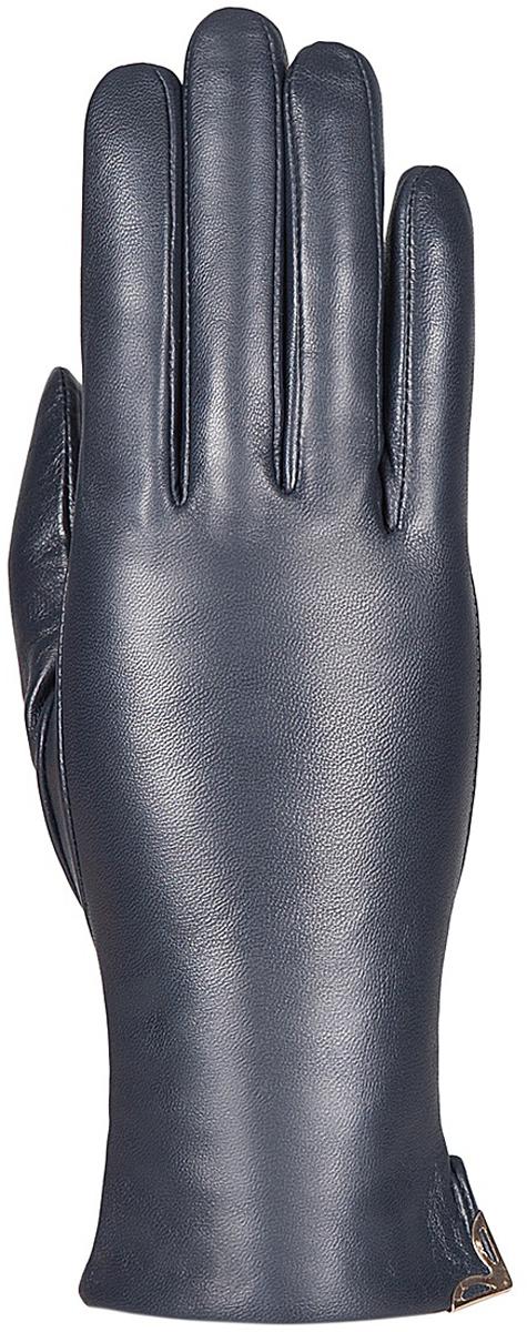 Перчатки женские Eleganzza, цвет: темно-синий. IS953. Размер 6,5