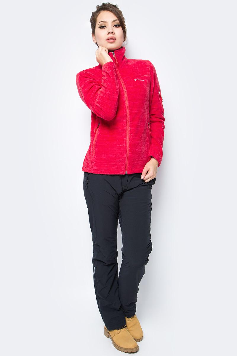 Толстовка женская Columbia Fast Trek Printed Jkt W, цвет: красный. 1622211-654. Размер L (48)1622211-654Толстовка женская Columbia изготовлена из качественного материала. Толстовка с высоким воротником застегивается на молнию и дополнена врезными карманами. Подходит для активного отдыха и как вариант на каждый день. Модель можно носить как самостоятельно, так и в качестве среднего слоя в холодную погоду.