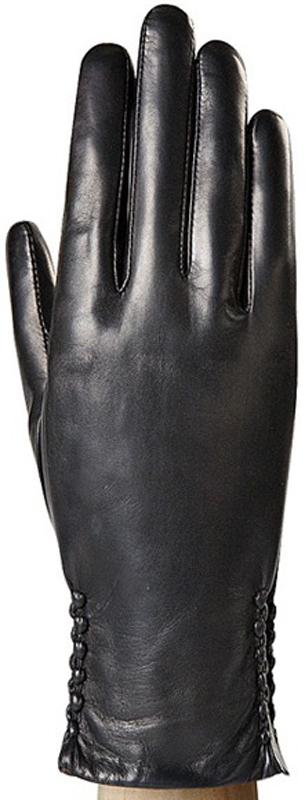 Перчатки женские Eleganzza, цвет: черный. IS0424. Размер 7,5IS0424Стильные женские перчатки Eleganzza не только защитят ваши руки, но и станут великолепным украшением. Перчатки выполнены из мягкой и приятной на ощупь кожи ягненка, подкладка - из натурального меха кролика. Манжеты оформлены выпуклыми декоративными элементами.Такие перчатки станут идеальным аксессуаром, дополняющим ваш стиль и неповторимость.
