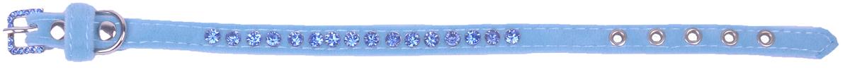 Ошейник для собак GLG, 1 х 28 см. AM801-28-BAM801-28-B