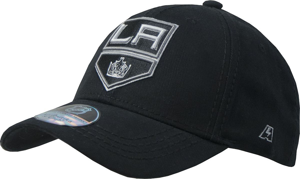 Бейсболка Atributika & Club Los Angeles Kings, цвет: черный. 28123. Размер 55/58 лонгслив printio los angeles kings nhl usa