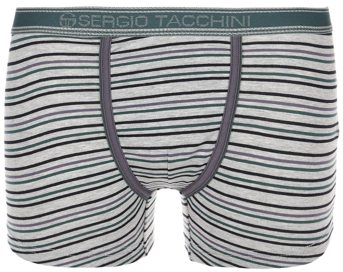 Трусы-боксеры мужские Sergio Tacchini, цвет: серый. 15179. Размер XL (52)