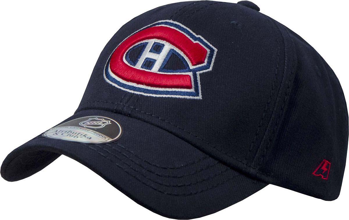 Бейсболка Atributika & Club Monreal Canadiens, цвет: черный. 29093. Размер 55/58 куртка nhl canadiens atributika & club