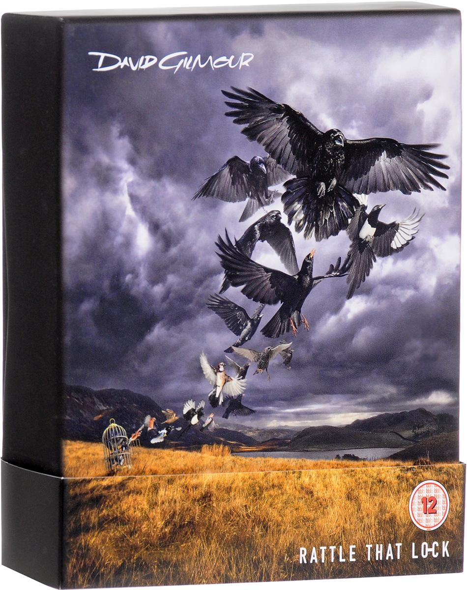 Дэвид Гилмор David Gilmour. Rattle That Lock. Deluxe Edition (CD + Blu-ray) cd диск david gilmour rattle that lock 1 cd
